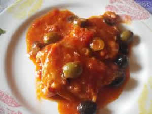 Pollo a la Puttanesca