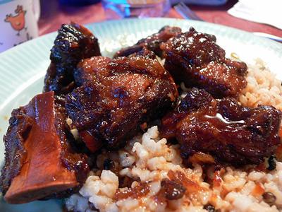 Costillas de cerdo orientales (Cocina china)
