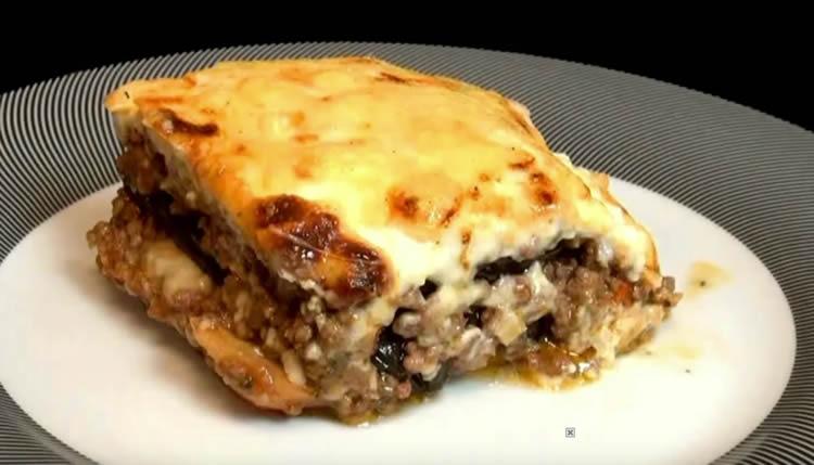 Lasagna de berenjenas (Musaca)
