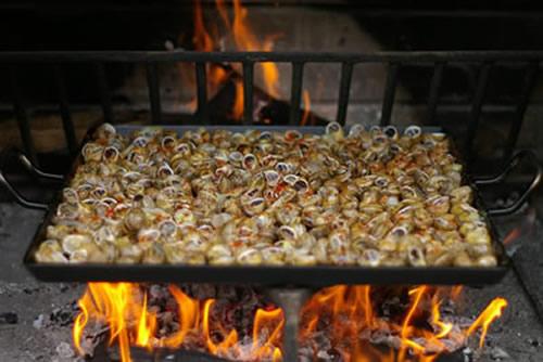 Cocinar Caracoles | Miguel Pena Roma Caracoles A La Llauna Miguel Pena Roma