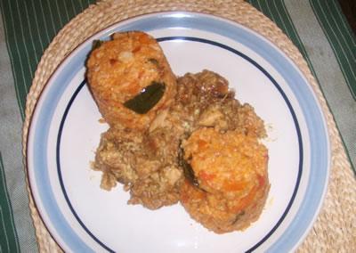 Pollo en fricassea (Cocina Italiana)