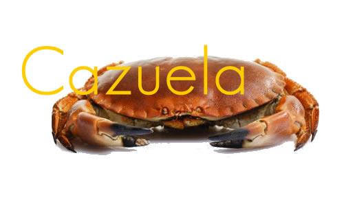 Cazuela de cangrejo de mar