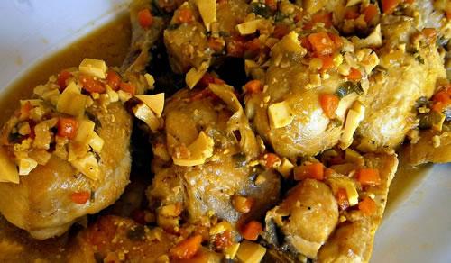 Pollo en Pepitoria (Cocina Española)