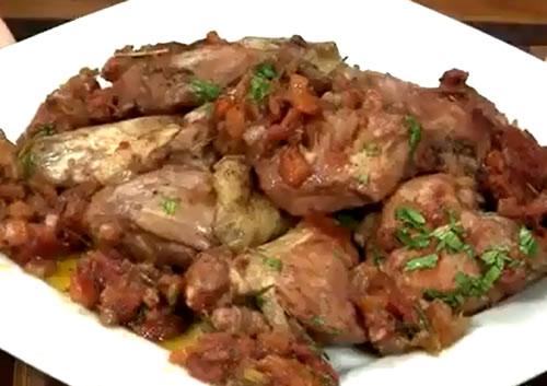 Conejo a la Cortijera (Cocina Española – Andalucía)
