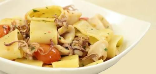 Calamarata – Pasta con calamares