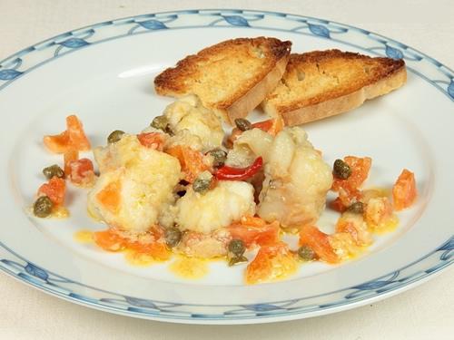 Rape mediterráneo (Cocina Española)