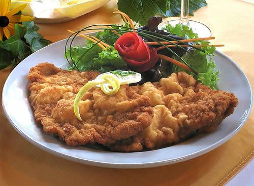 Wiener Schnitzel de cerdo (Escalope vienés – Austria)