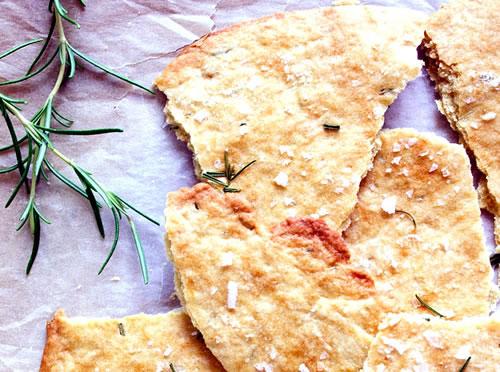 Crackers de Romero y Sal Marina
