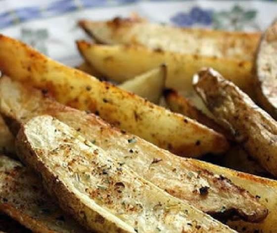 Patatas al horno estilo griego