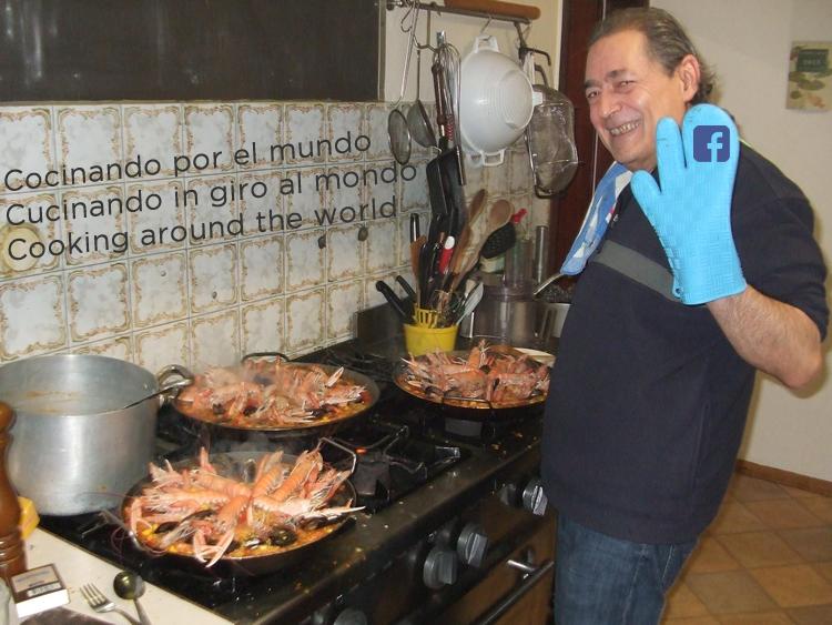 Cocinando por el mundo (Español-Italiano-Inglés)