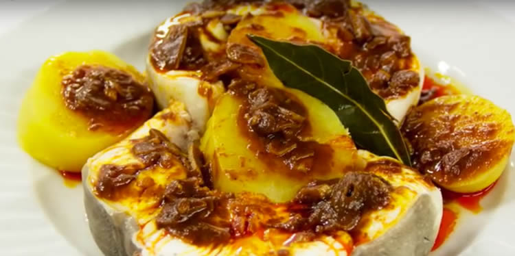 Congrio al ajo arriero (Cocina Española)
